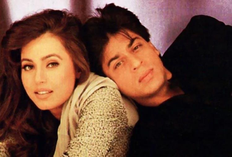 Mahima Chaudhry and Shahrukh Khan Pardes