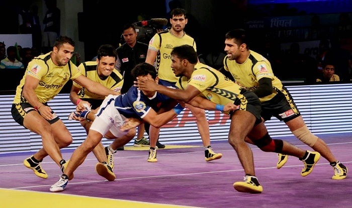 Telugu Titans vs Tamil Thalaivas