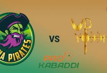 UP Yoddha Vs Patna Pirates