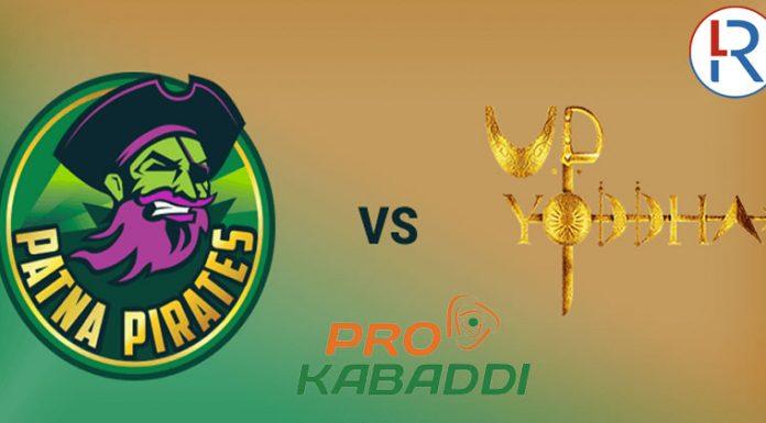 UP Yoddha Vs Patna Pirates