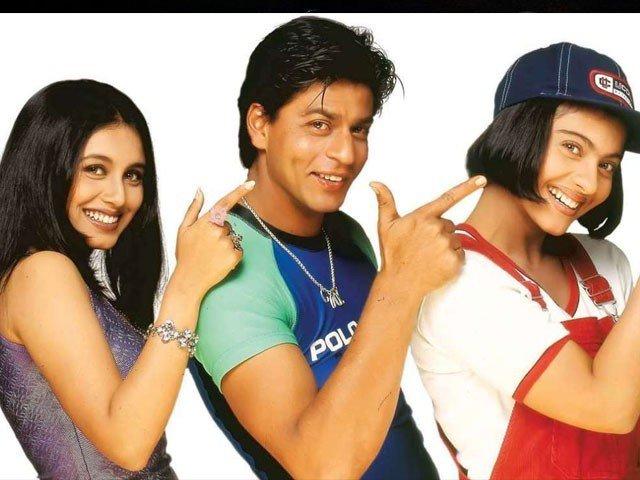 shahrukh khan, Kajol and Rani Mukherjee