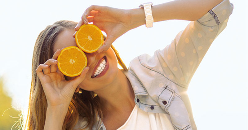 benefits of orange for skin