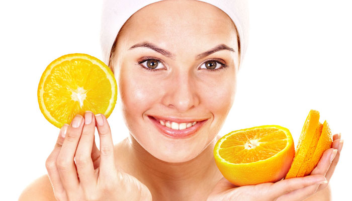 benefits of orange for skin