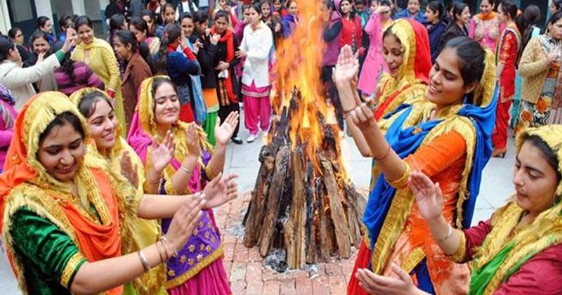 Celebration of Lohri