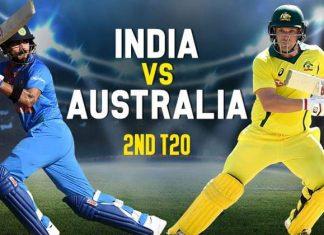 IND vs AUS, 2nd T20