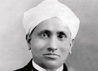 CV Raman Biography in Hindi