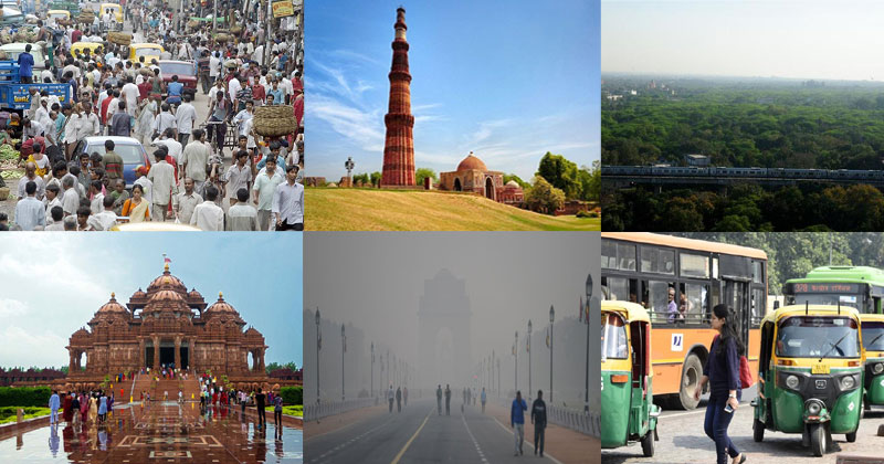 Facts About Delhi in Hindi
