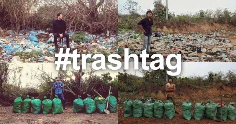 #TrashTag Challenge