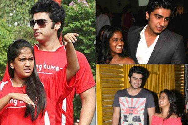 Arjun Kapoor and Arpita Khan