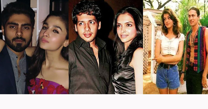 Bollywood Celebrities Relationships Before Fame