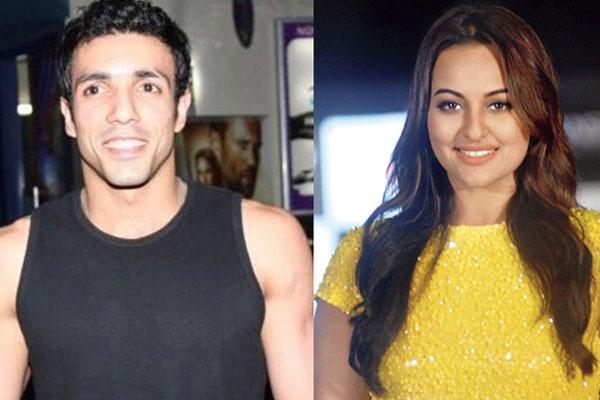 Sonakshi Sinha and Aditya Shroff