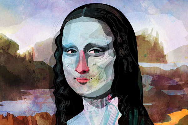 30 layers of Mona Lisa-Interesting Facts About Mona Lisa Painting In Hindi