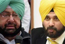 Dispute Between Amrinder Singh and Navjot Singh Sidhu