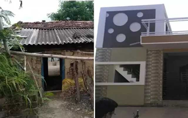 martyrs wife gets a new house