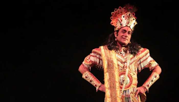 nitish bharadwaj as krishna