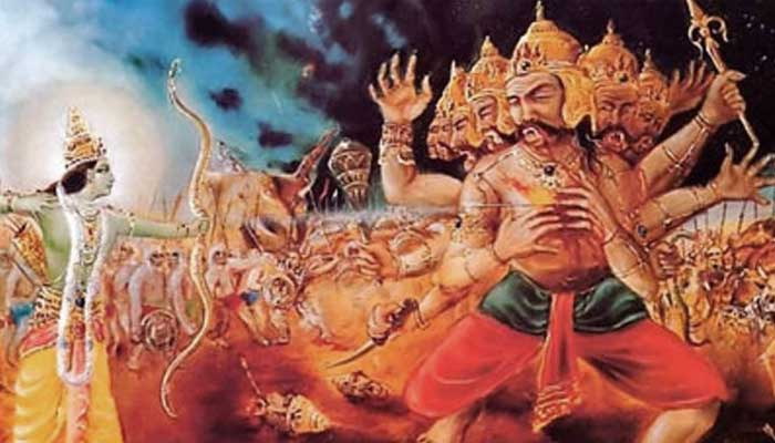 ravana death secret in hindi