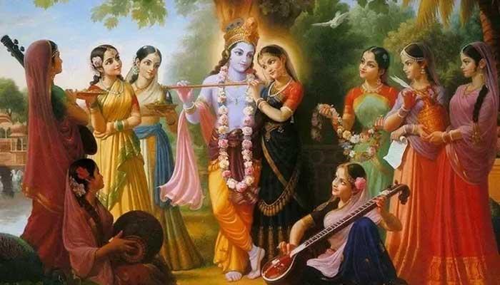 how many wife of lord krishna in hindi