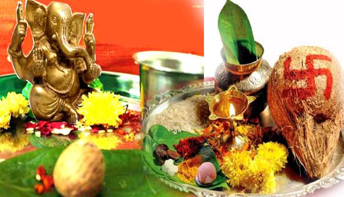 Ganesh Chaturthi puja samagri