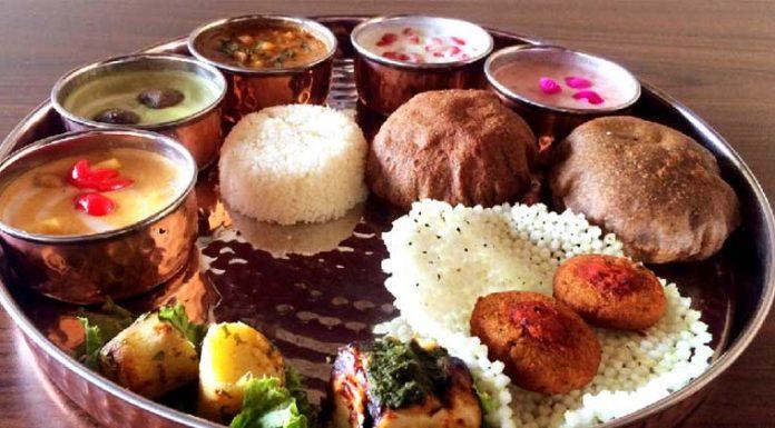 Navratri-Thali