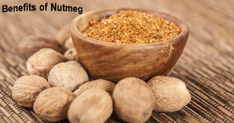 benefits of nutmeg