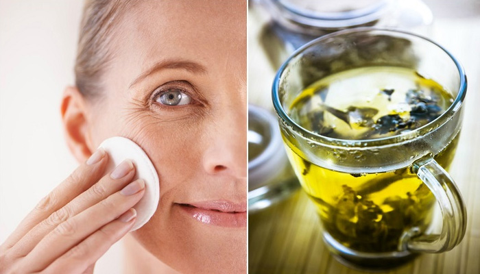 green tea benefits for skin in hindi