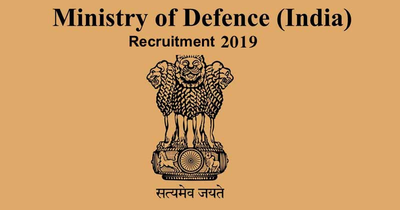 Ministry of Defence Recruitment 2019