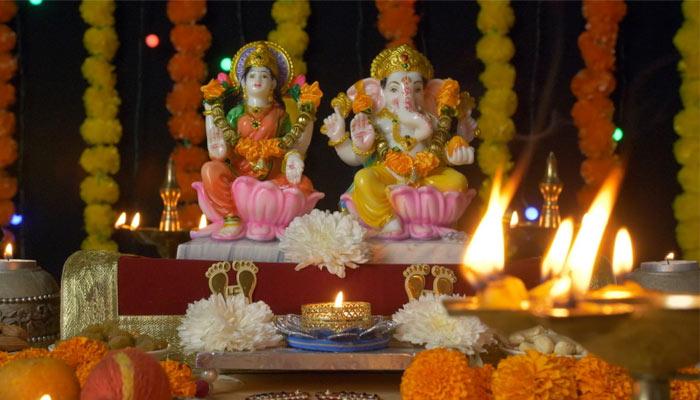 Diwali Temple Decoration
