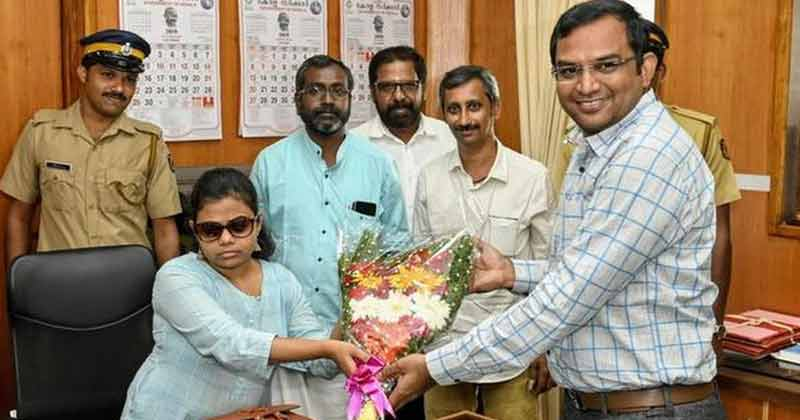 Indias First Blind IAS Officer