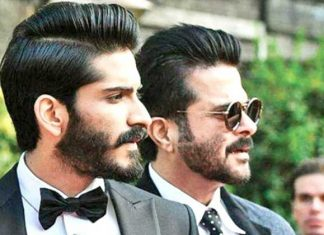 anil kapoor with son