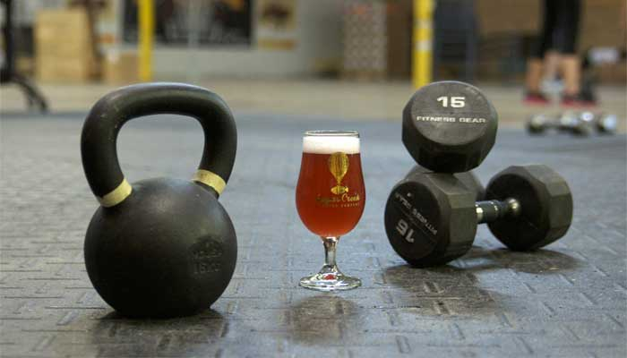 beer for muscles