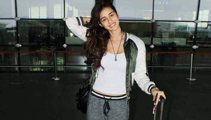 disha at airport