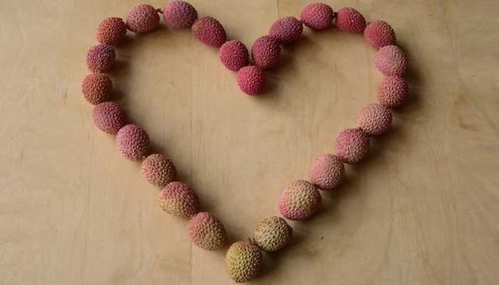 litchi for heart
