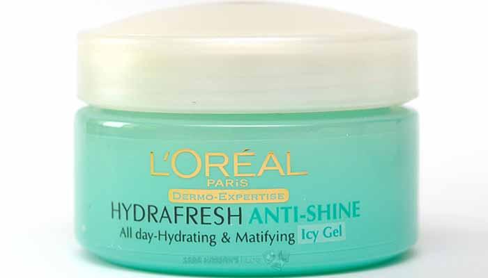 loreal moisturizer icy gel
