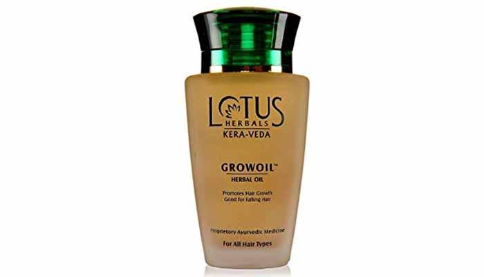 lotus herbal hair oil