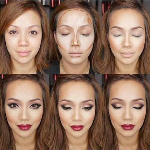 oval face makeup tips
