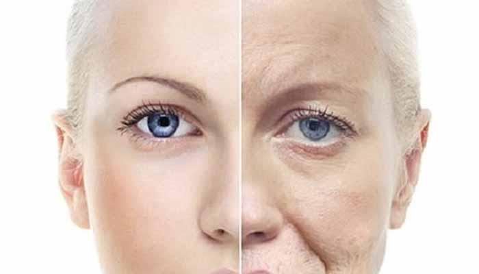 ragi preventing from skin aging