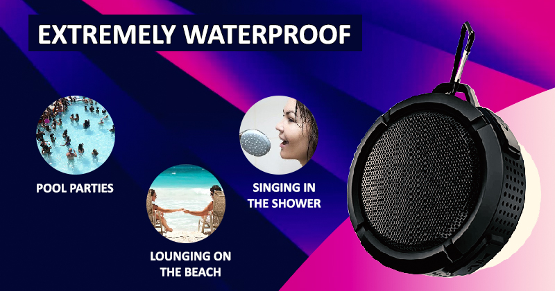 BRIX Waterproof Bluetooth Speaker