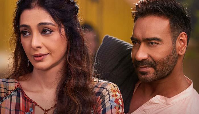 Tabbu And Ajay Devgan