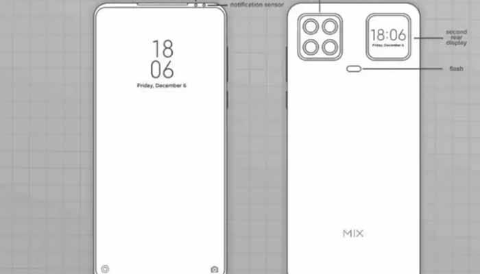 Xiaomi Dual Display Smartphone