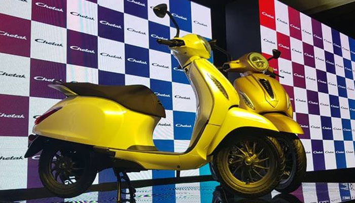 bajaj chetak electric scooter get 3 years50000 km warranty built female workers