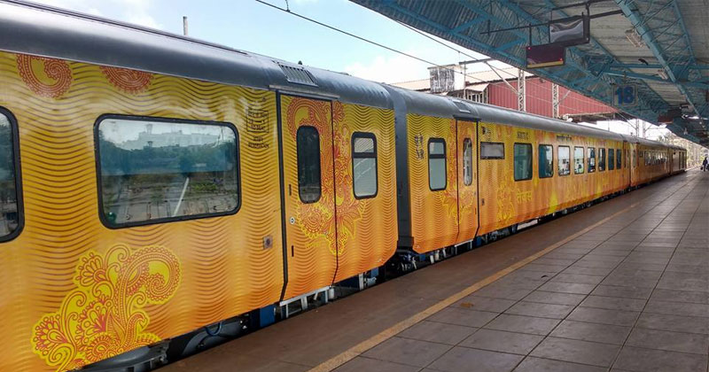 first private train tejas express gets rs 70 lakh profit in first month
