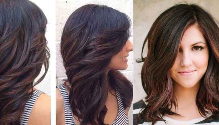 heavy layer hairstyle