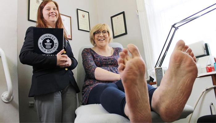 Largest Feet