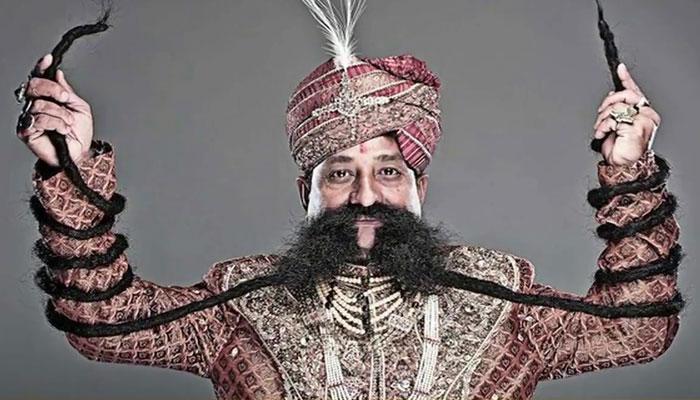 Longest Mustache