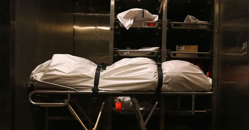 prisoner wakes up in mortuary in asturias spain