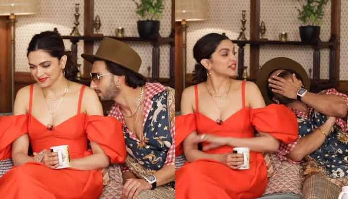 Ranveer Kissed Deepika During An Interview
