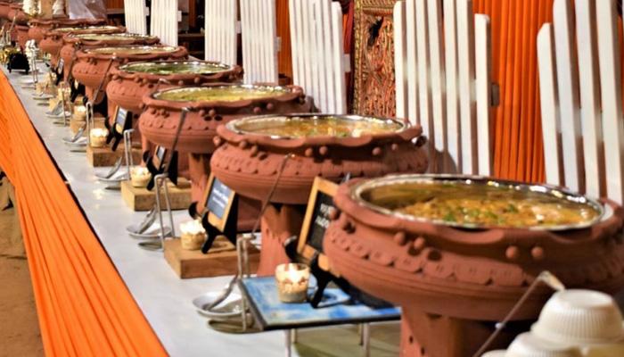 wedding food arrangementl