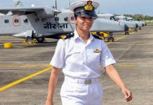 Shivangi First Woman Pilot Indian Navy