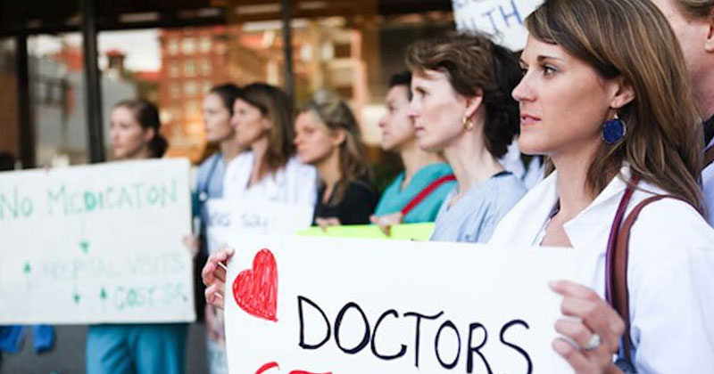 canada doctors salary strike