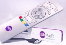 d2h magic voice enabled stick launched